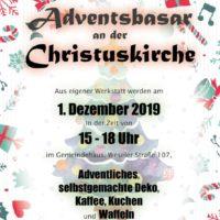 Einladung Adventsbasar